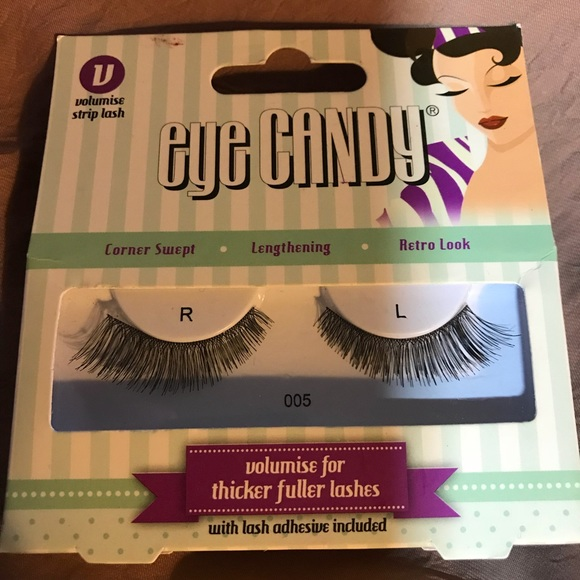 bba940325f7 Eye Candy Makeup | False Lashes Retro Look Nib | Poshmark